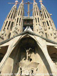 Barcelona's no.1 tourist attraction - la sagrada familia by antonio Gaudí