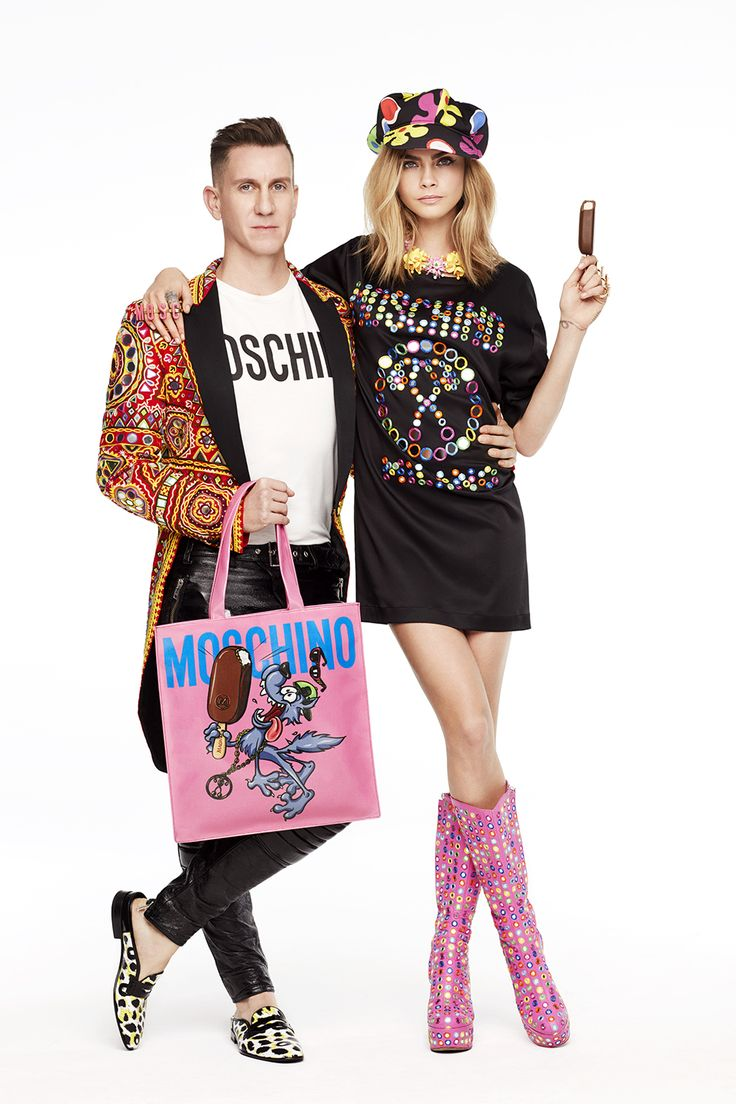 Cara Delevingne . Magnum x Moschino 2nd chapter...