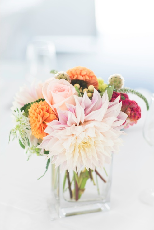 Clear Square Gl Vases Quality For Centerpieces Photograph