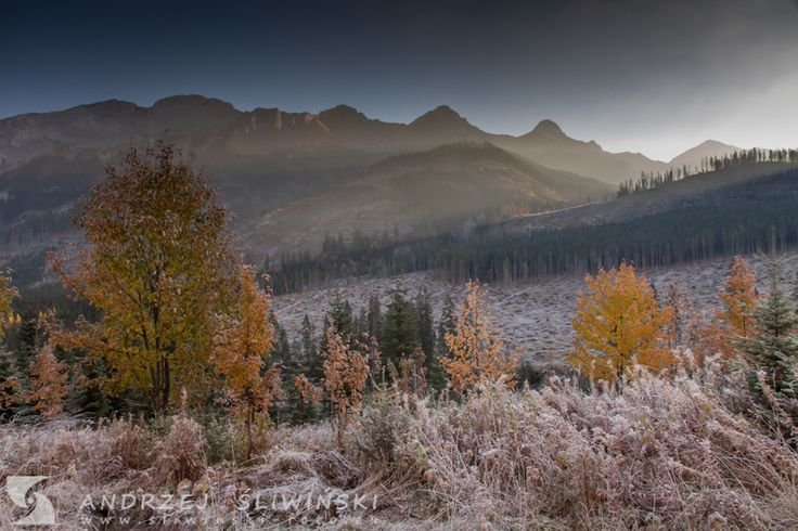 The High Tatras in autumn, Slovakia. #mountainphotography #landscapephotography