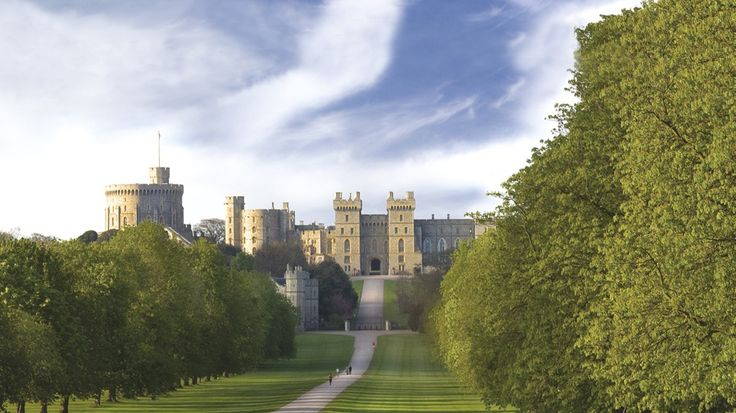 A view of the Long Walk leading up to Windsor Castle