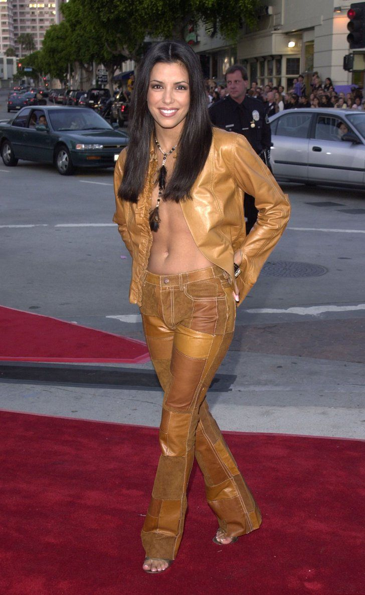 Pin for Later: A Nostalgic Look Back at Celebrities' Earliest Red Carpet Appearances Eva Longoria, 2001