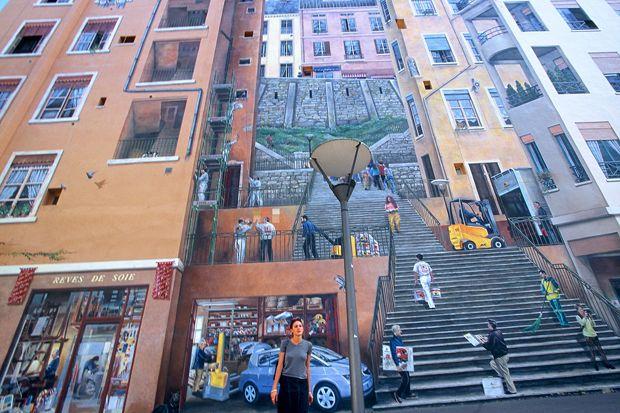 Lyon, murales