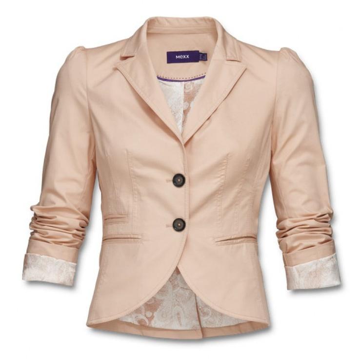 Mexx pasztell rózsaszín rövid blézer – Shopping.hu