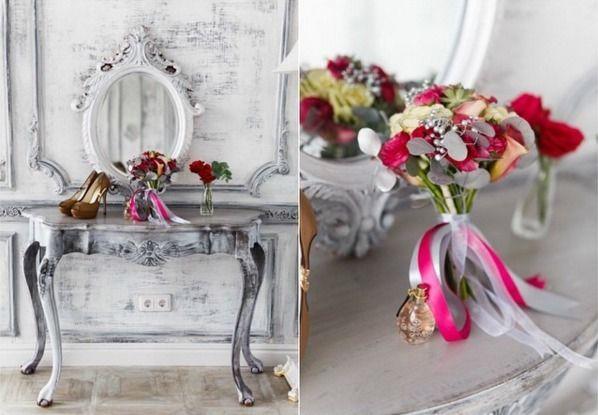 Свадебный букет невесты и бутоньерка для жениха — Cвадебное агентство Санкт-Петербурга Wedkitchen