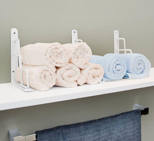 Repisas para organizar tu toalla
