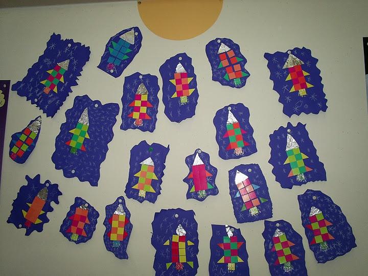 Raket mozaiek