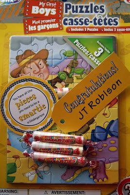 Paper Perfection: Preschool Graduation Gift