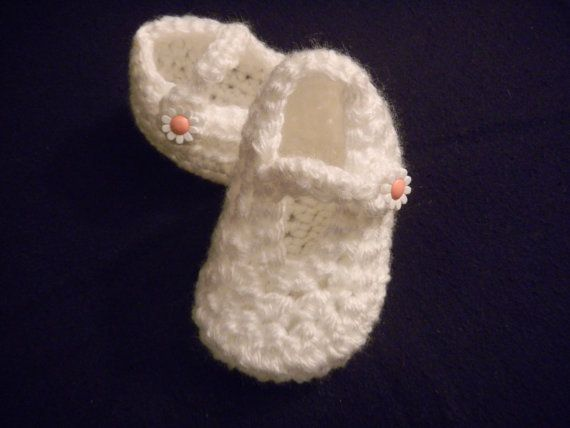 Baby Crochet Shoes by KnotsSewFast on Etsy, $10.00