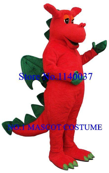 >> Click to Buy << Friendly Tyrannosaurus Dinosaur Dragon Mascot Costume Halloween Theme Cartoon Anime Cosplay Costumes Mascotte Fancy Dress Kits #Affiliate