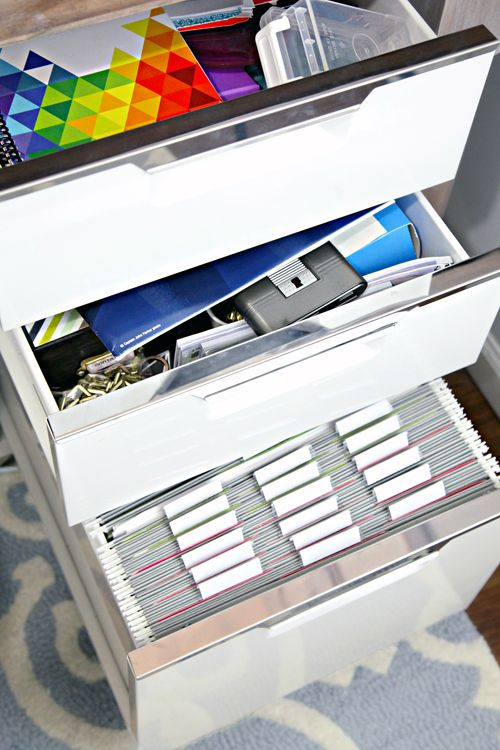 Best 25 File Cabinet Organization Ideas On Pinterest