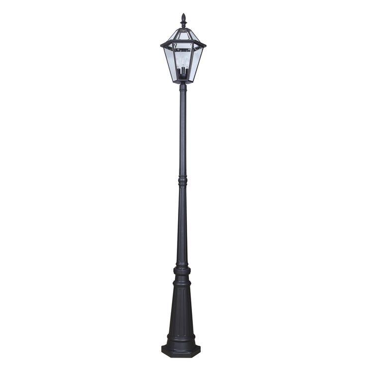 Street lampscenic design uses street lamps for exterior for Lamp post light lowes