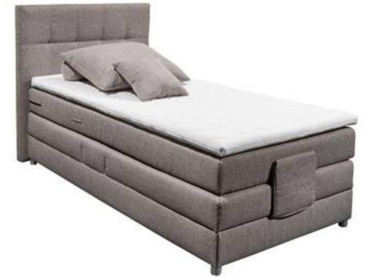 Xora Boxspringbett Bernd Grau Stoff Bed Mattress Furniture