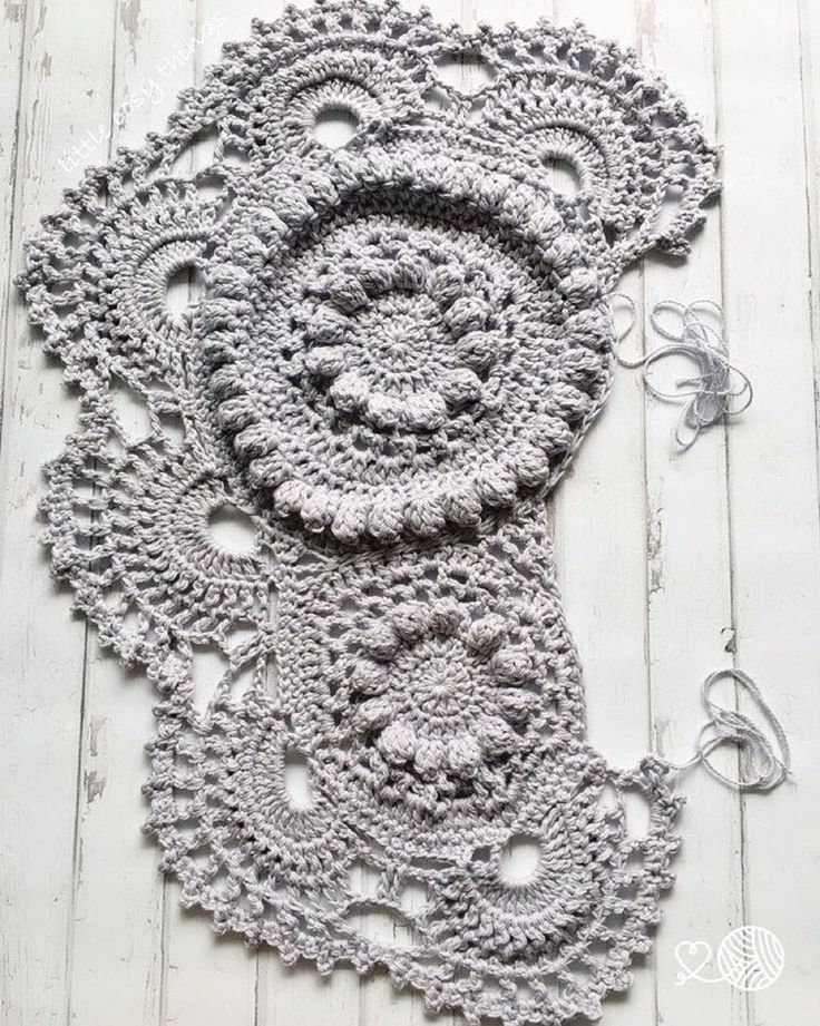 A crochet elephant rug in the making by Little Cosy Things ...