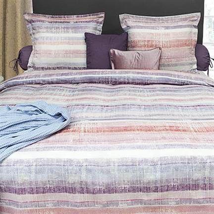 NIEUW! Refined Iza dekbedovertrek. Een schilderachtig dessin in zachte, warme kleuren. Heerlijk om onder te slapen!