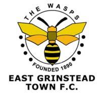 1890, East Grinstead Town F.C. (England) #EastGrinsteadTownFC #England #UnitedKingdom (L16901)