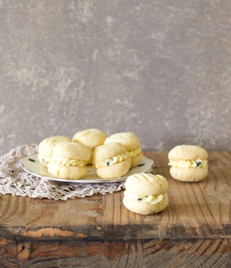 The Kiwi Cook | Gluten-free Passionfruit Melting Moments | http://thekiwicook.com