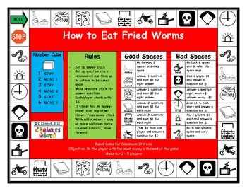 11 best how to eat fried worms images on pinterest teaching how to eat fried worms board game ccuart Choice Image