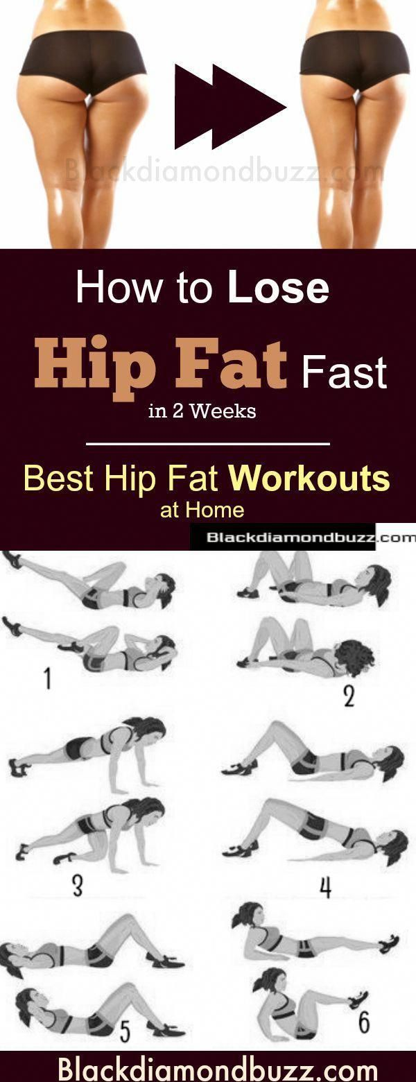 How to Lose Hip Fat Fast at Home - 7 Best Hip Fat Workouts ...