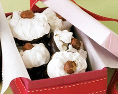 Chocolate Hazelnut Meringues