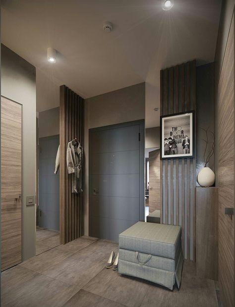 Квартира для холостого мужчины - 3D-проекты интерьеров в стиле лофт | PINWIN - конкурсы для архитекторов, дизайнеров, декораторов