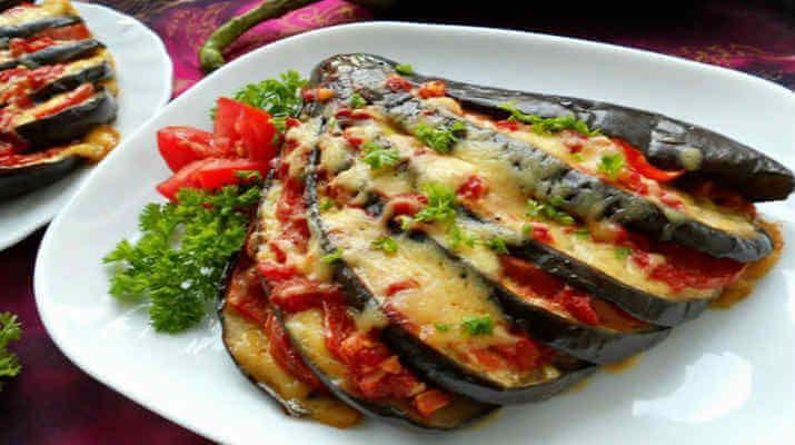 Баклажаны, запеченные с помидорами. Лучшие рецепты для вас на сайте «Люблю готовить»