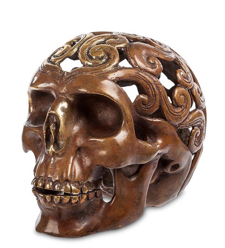 Фигурка «Череп» 43-096 (бронза, о. Бали)   Бренд: Perunggu & Emas Nasional (Индонезия);    Страна производства: Индонезия;   Материал: Бронза;   Длина: 9 см;   Ширина: 12 см;   Высота: 10 см;   Вес: 0,46 кг;          #statuette #figurine #bronze #Indonesia #статуэтка #фигурка #бронза #Индонезия