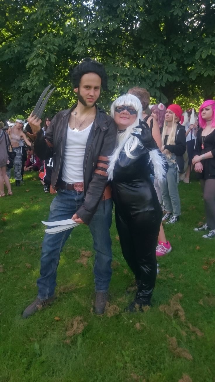 From NärCon Summer in Sweden 2015 Me and Wolverine!