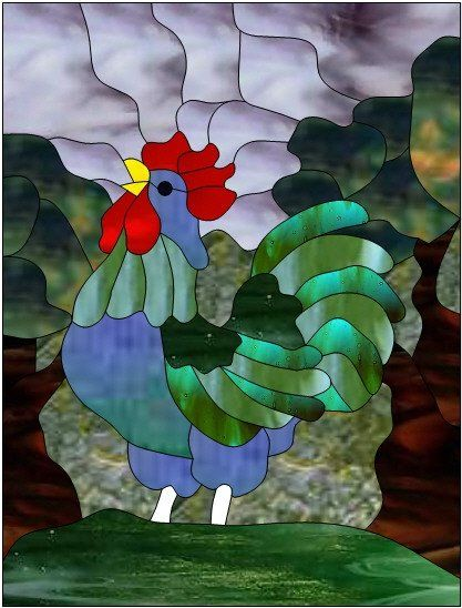 coq - Rooster by Manon Cayer https://www.facebook.com/manon.cayer.1