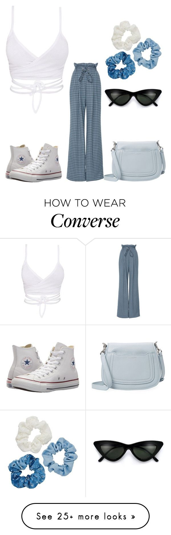 """""""Vibe"""" by anne-maren-weisser-fredriksen on Polyvore featuring Rodarte, Converse, Mudd, Marc Jacobs and vintage"""