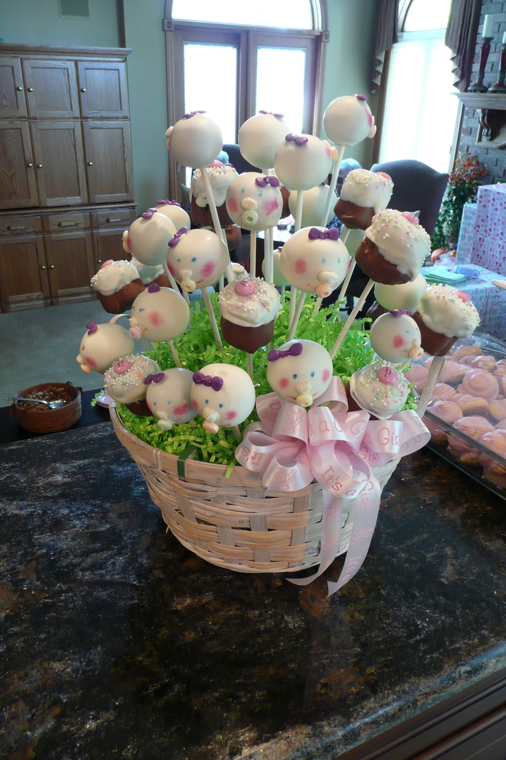 Pictures Of Baby Shower Cake Pops