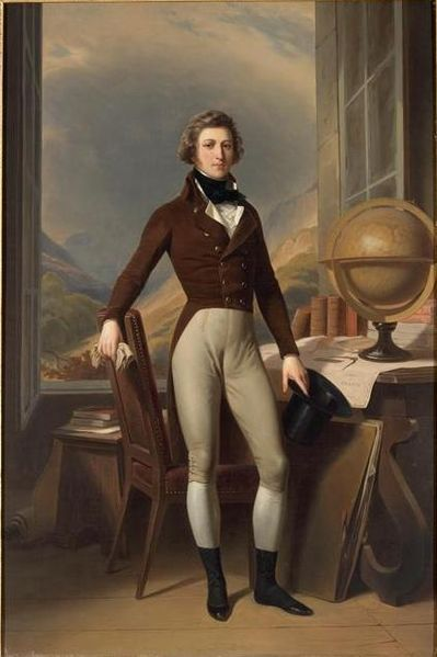 """inebriatedpony: """" jeannepompadour: """" Evolution of men's style; Portrait of Louis Philippe while at Reichenau, 1793-94 by Auguste Couder and Winterhalter, Barthélémy Charles, Comte de Dreux-Nancré,..."""