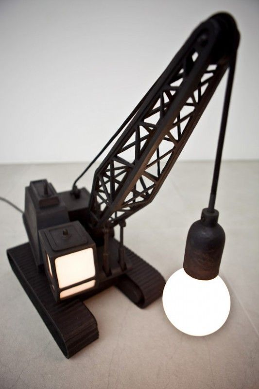 mommo design: 8 RECYCLING IDEAS- Wrecking ball lamp