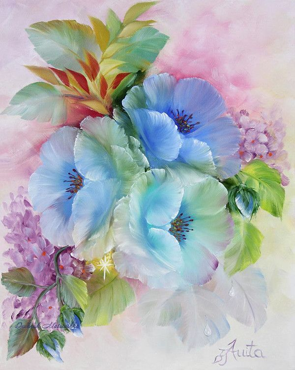 Ilona Tigges Goetze Art Peinture Fleurs Peinture Decorative