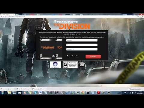 Downloadthedivision.com - This site is a site that my friend who carries beta limitations finally showed me. On this website you may get beta codes for Tom Clancy's The Division totally free. It is really cool because the game isn't being release until 2014. I've demonstrated this to some of my friend to date and now I am showing you.>> Free Beta Codes for Tom Clancy's The Division - Absolutely Free --> http://www.youtube.com/watch?v=XZUlXS9ODX0