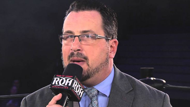 The WWE Performance Center has a special guest coach teaching at the facility this week ... Ring of Honor announcer Steve Corino.