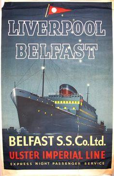 Best Navieras Images On Pinterest Bus Travel Vintage - Cruise ship ireland