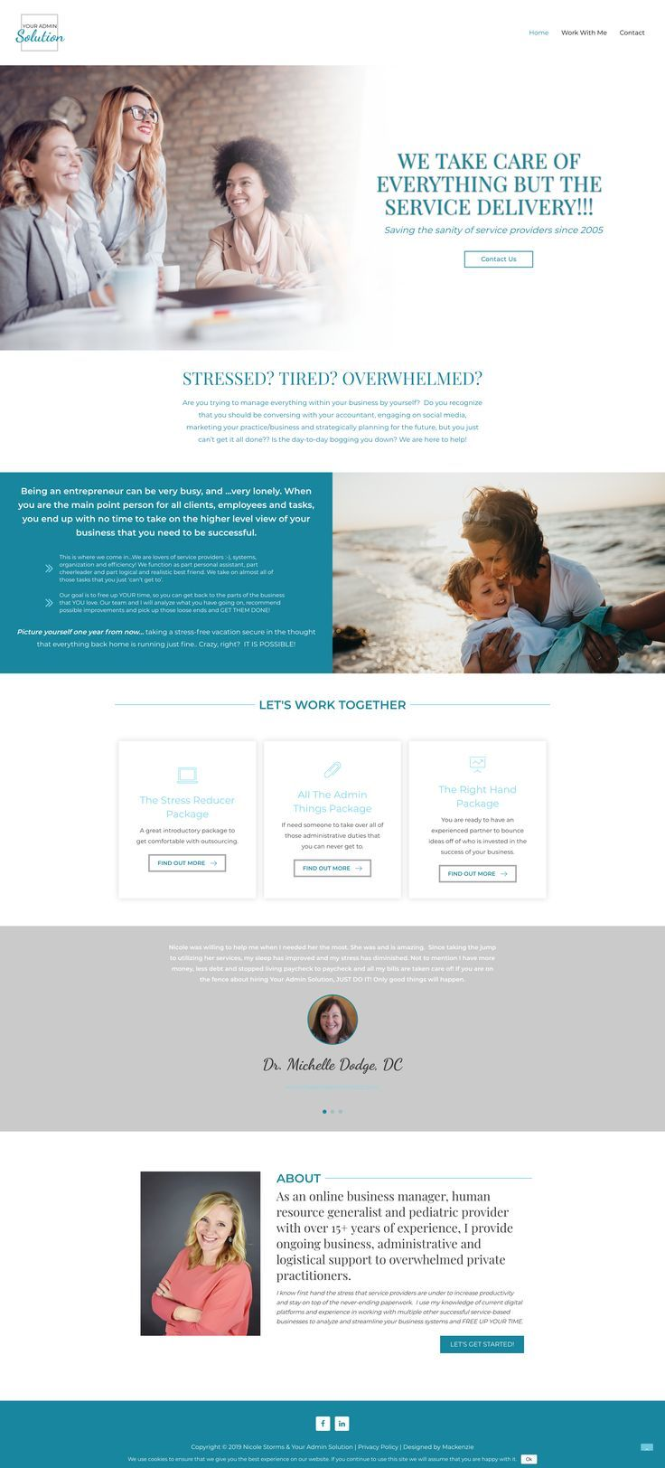 Virtual Assistant Web Design Layout Ideas Virtual Assistant And Freelancers Website Examples Custom Wordpress Freelance Web Design Web Design Web Design Tips