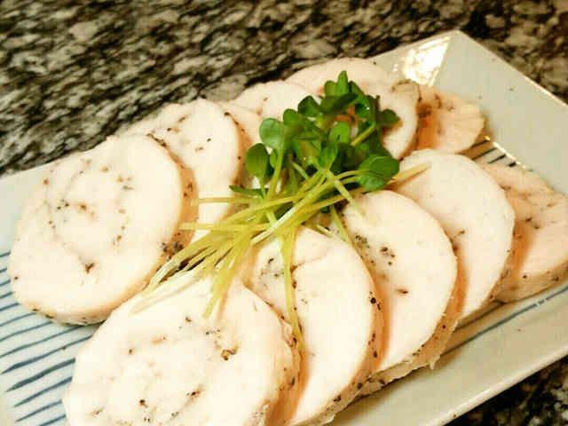 塩抜き不要、圧力鍋で★半日で作る鶏ハムの画像