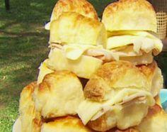 Recetas | Cocineros Argentinos - Don Herrera - Sacramentos caseros rellenos de jamón y queso