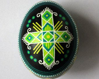 Ukrainian Pysanka Easter Egg FREE Shipping Traditional