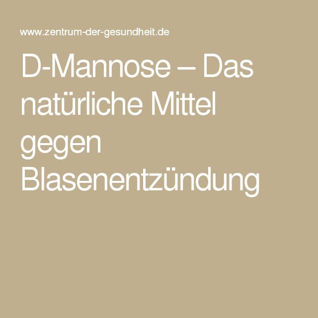 D-Mannose – Das natürliche Mittel gegen Blasenentzündung