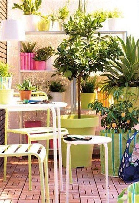 oltre 25 fantastiche idee su piccolo balcone su pinterest ... - Idee Per Arredare Un Piccolo Terrazzo