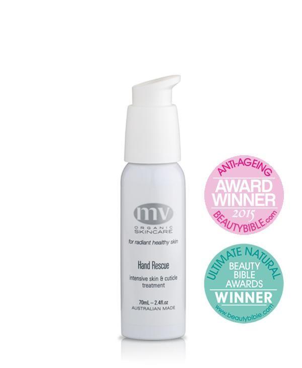 2017 Beauty Awards winner: Best  Hand Cream: MV Skincare Hand Rescue
