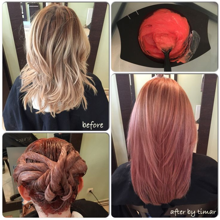 Rose hair color