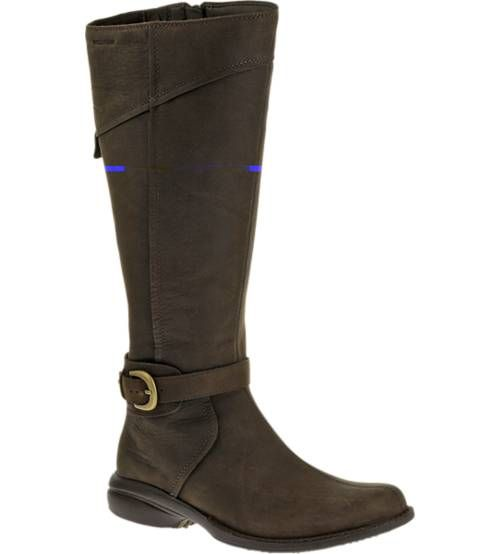 When it's time to buckle down or dress up for that special event, this coveted, casual yet oh-so-comfortable boot delivers a perfect balance of refined and rugged to match your outdoor lifestyle. Rich leather with a leg-hugging waterproof upper dresses up with your favorite skirt while keeping your feet dry, and the women's specific sole cushions and flexes to match your passion for exploring on foot.