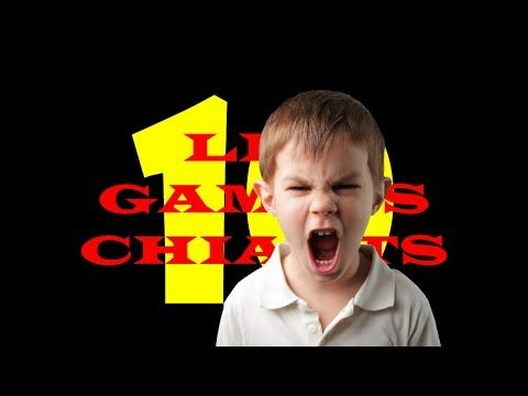 TOP TEN - Les gamins chiants