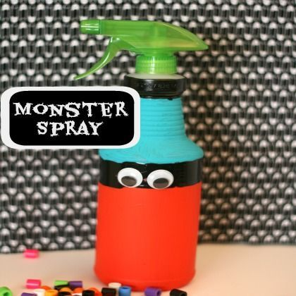 No More Monsters! Monster Spray