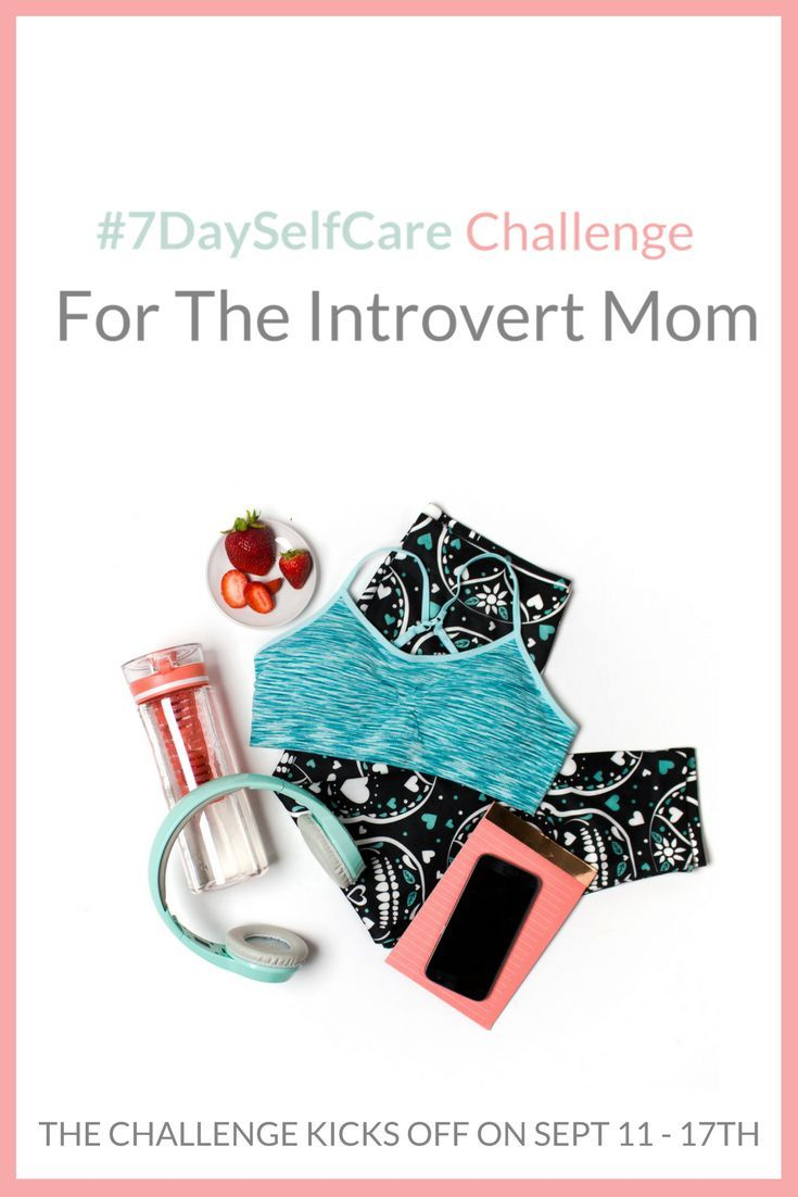 Forget the pretty Pinterest Pins with the list of activities for a few days or a month of self-care, but does NOT hold you accountable for actually going through the challenge. Not only is this challenge just for the introvert mom, this challenge can also be applied to extroverts too! Are you ready to go from feeling meh to a better mood in just 7 days?