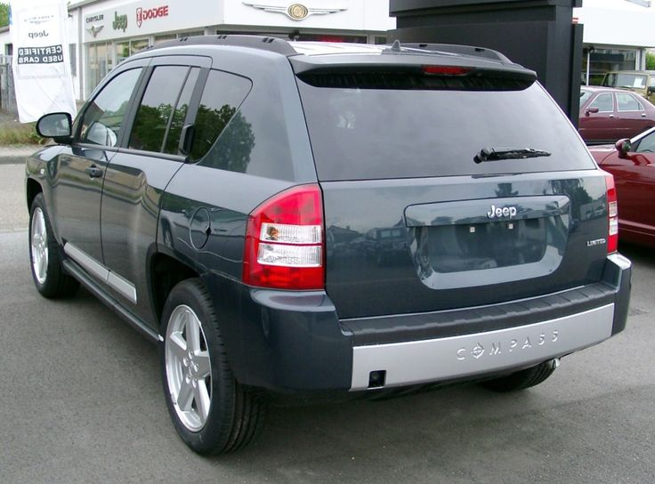 Jeep Compass rear 2008
